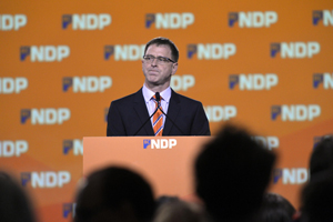 NDP: Stolen victory? Judge for yourself. Photo by Joshua Berson.